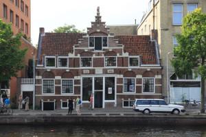 Aalsmeerder Veerhuis (Sloterkade 21), voor bezoekers geopend op de Open Monumentendag van 2014.